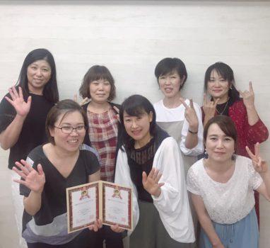 2019年7月10日(水)「ABCハンドセラピスト認定講座【大阪・福岡】」開催の報告!