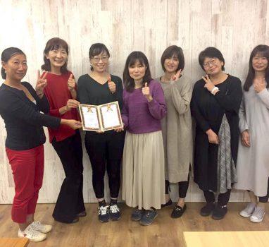2019年11月7日(木)「ABCハンドセラピスト認定講座【東京】」開催の報告!